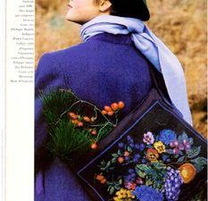 Le sac brodé du N°160