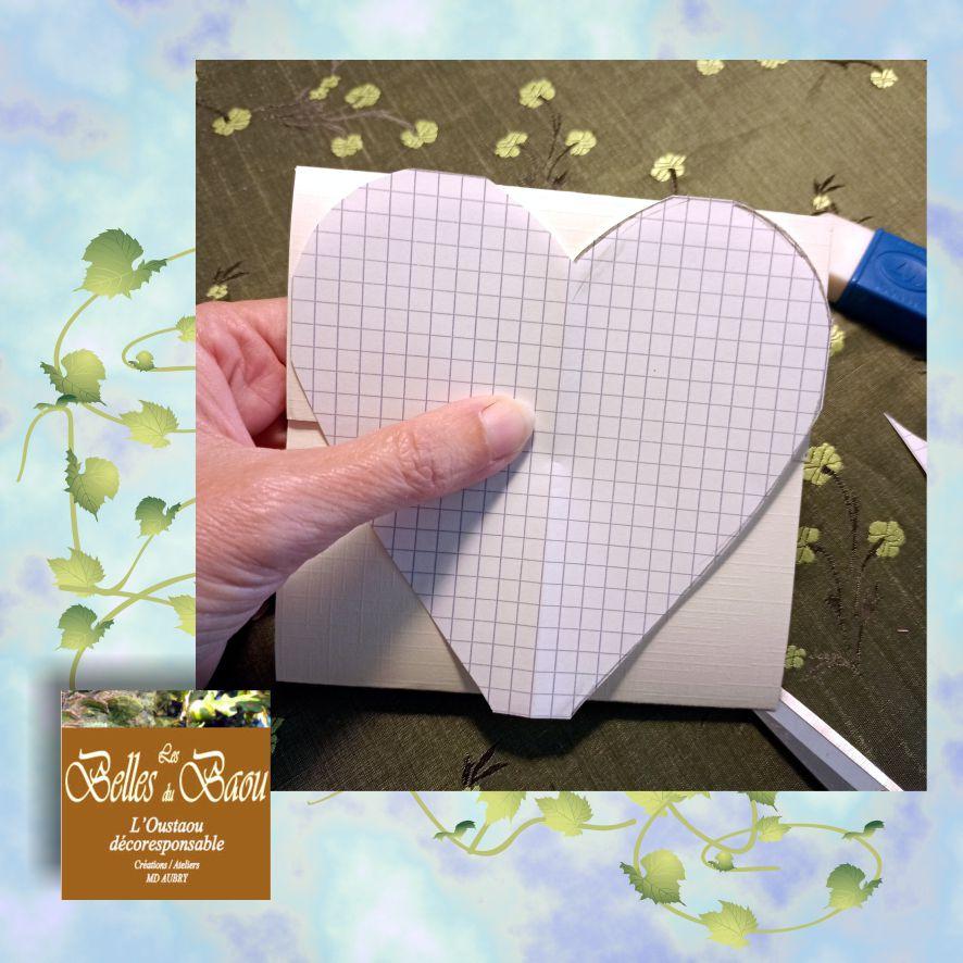 Tuto gratuit scrapbooking carte pour la fête des mères Les Belles du Baou