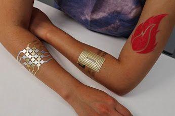 L'homme augmenté : interface électronique tactile sur la peau
