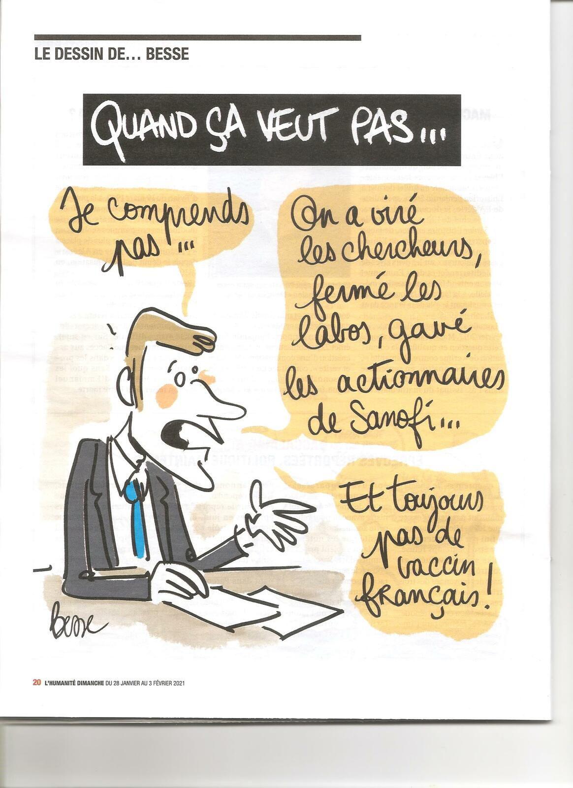 VACCIN, Sanofi et Institut Pasteur, pourquoi ce double échec?
