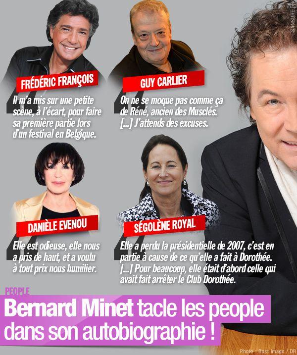 Bernard Minet tacle les people dans son autobiographie ! #clash