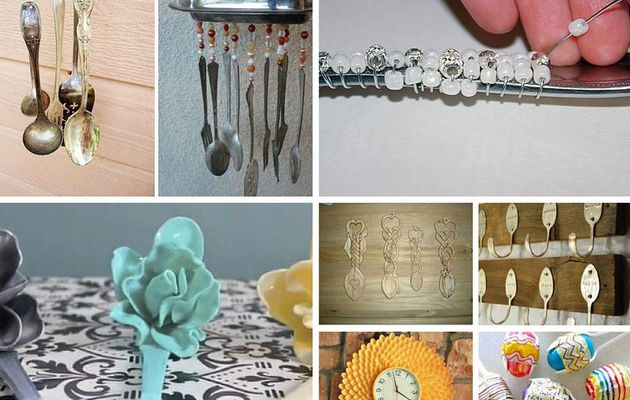 Home crafts with spoons