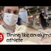 Tokyo Vlog #3 - Dining like an olympic athlete