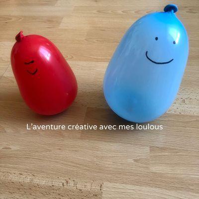 Ballons amusants