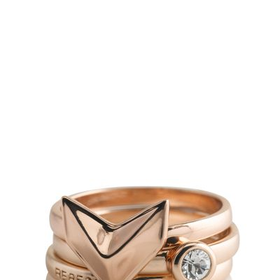 Rose gold colored ring - WANT!