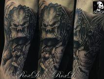 Tatouage Predator film