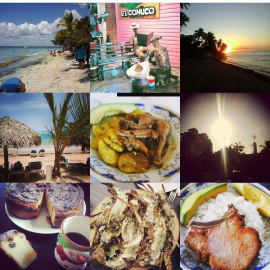 La vie en République Dominicaine sur Instagram