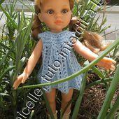 tuto gratuit poupée paola reina/ chérie de corolle : robe estivale à troutrous - Chez Laramicelle