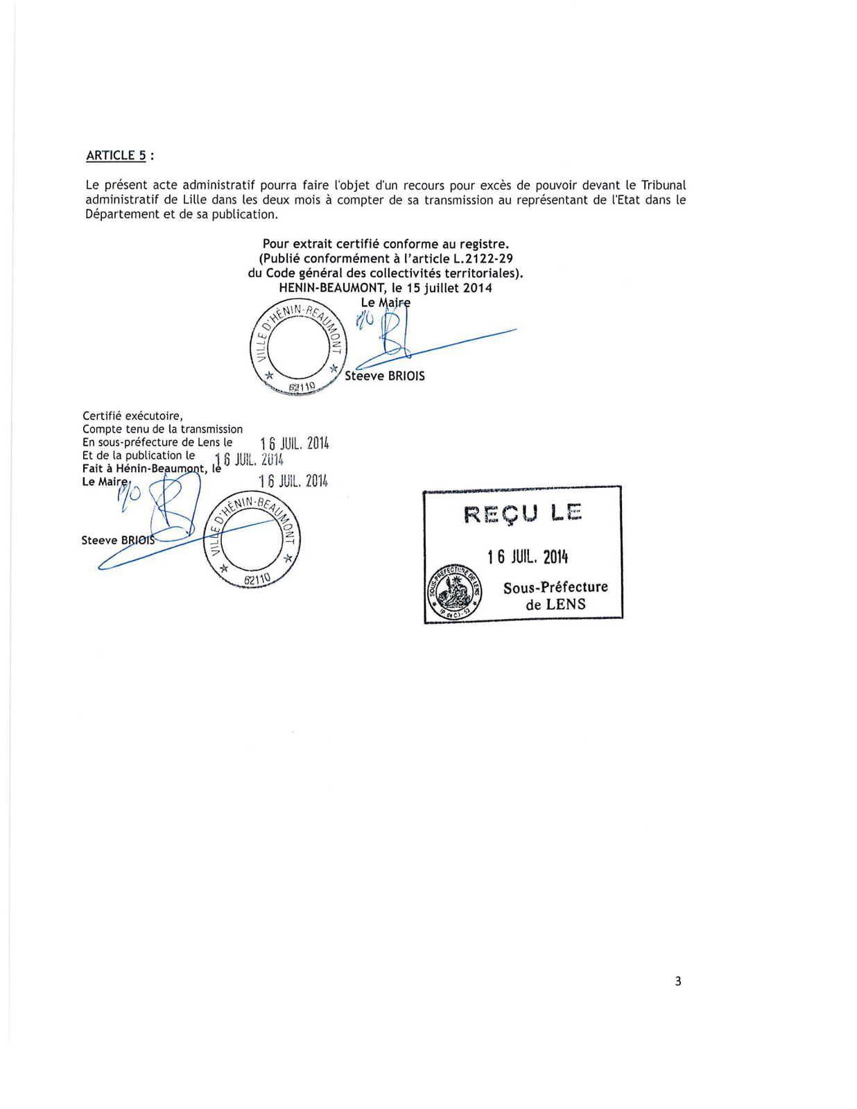 Recours de la LDH contre l'arrêté anti-roms : la ville d'Hénin-Beaumont a désigné un avocat parisien pour la défendre