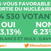 Résultats détaillés - Votation sur le nucléaire