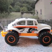 VOLKSWAGEN BEETLE 4X4 MATCHBOX 1/57 VW COX 4X4 - car-collector.net