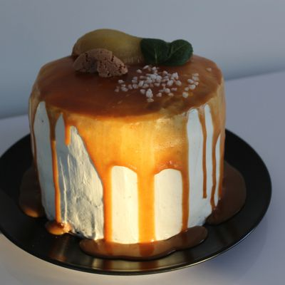 Layer cake Poire-anis