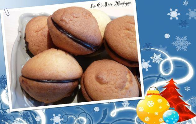 Biscuits doubles au chocolat