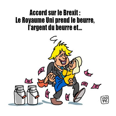 Accord post-Brexit entre l'Europe et le Royaume Uni