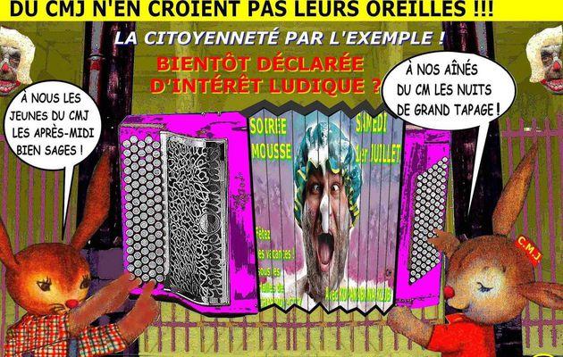 LES SOIRÉES-MOUSSE DE CHARMOY-CITY BIENTÔT DÉCLARÉES D'INTÉRÊT LUDIQUE ? - du 19 juillet 2017 (J+3136 après le vote négatif fondateur)