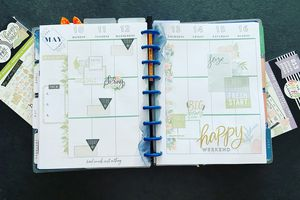 Plan with Me: Classic happy planner_ Semaine 19 et 20