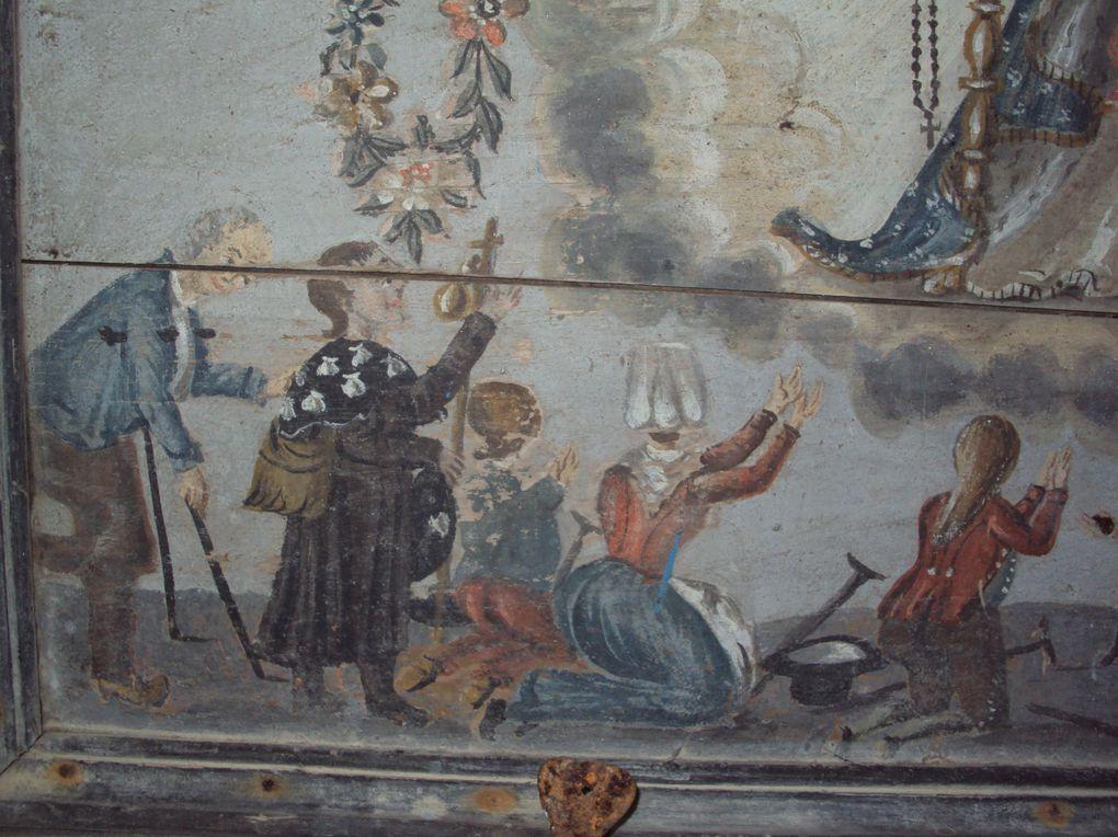 Ul livadenn er santual Itron-Varia-Garmez, e Leskoed, bro-Pourled