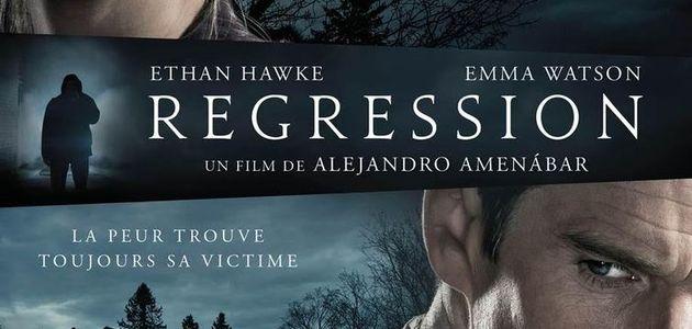 """""""REGRESSION"""": AFFICHE FRANÇAISE DU FILM AVEC EMMA WATSON"""