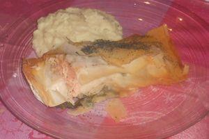 Koulibiac de saumon à ma façon...