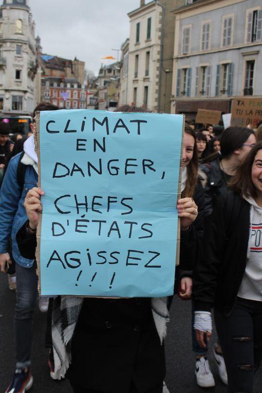 Les lycéens de Montluçon mobilisés pour sauver la planète