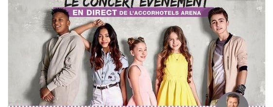 Le concert des Kids United à l'AccorHotels Arena diffusé en direct le 17 décembre sur W9