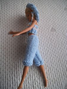DIY ensemble pantacourt Barbie