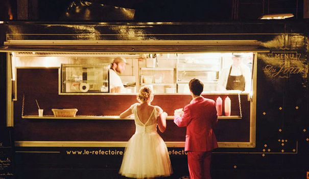 Location food truck mariage