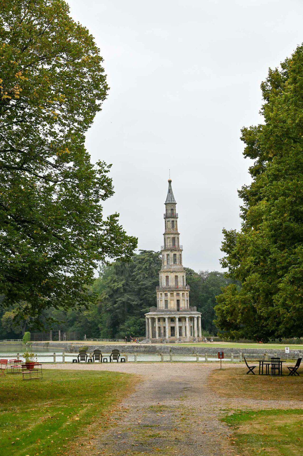 La Pagode de Chanteloup et son parc