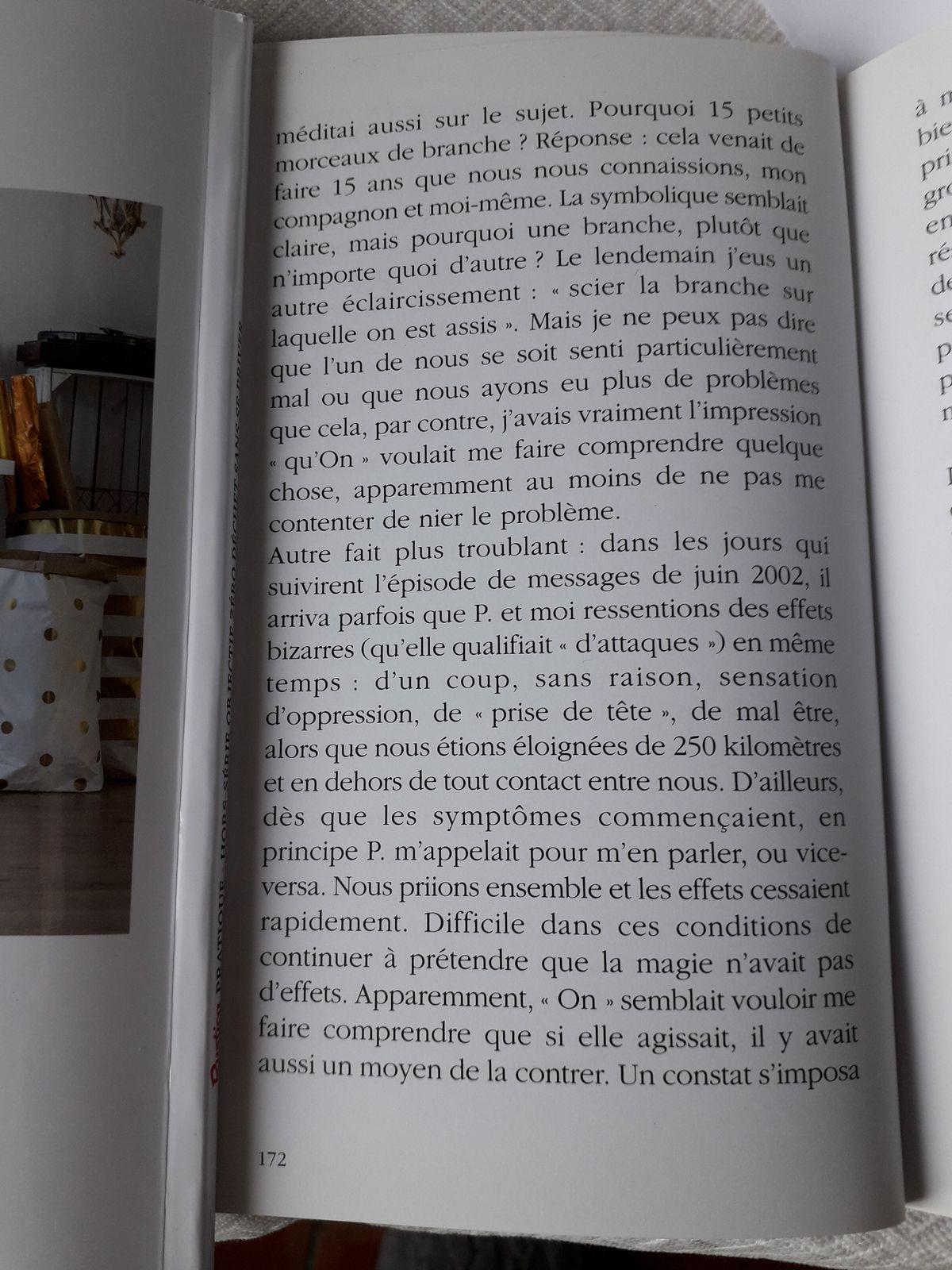 """Suite Pluie de Poussières d'Etoiles, page 170 à 174 Chapitre sur la """"magie"""""""