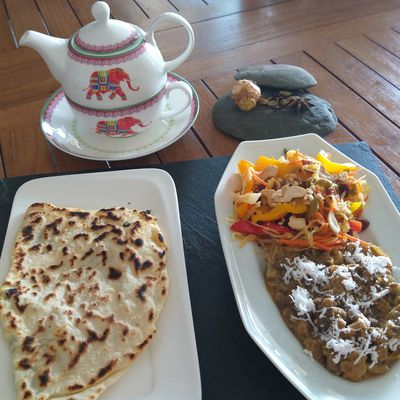 légumes Tandoori à l'indienne