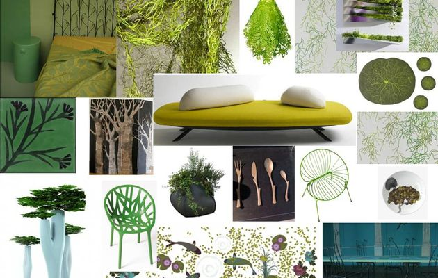 DESIGN D'INSPIRATION VEGETALE
