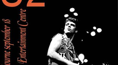 U2 -Unforgettable Fire Tour -18/09/1984 -Melbourne -Australie -Sports And Entertainment Centre #5