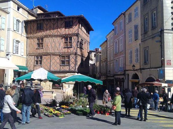 La belle ville de Auch.