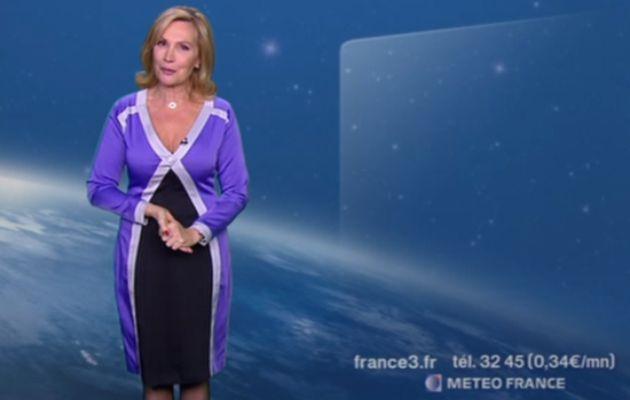 2013 01 17 - FABIENNE AMIACH - FRANCE 3 - LA METEO @20H00