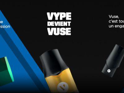 Vype devient Vuse