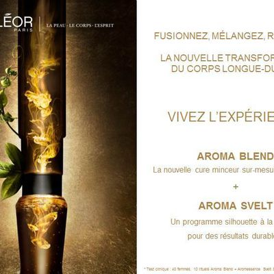 Cure Minceur/Fermeté Aroma Blend Decléor