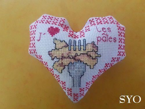Cœur Valentin J'aime les Pâtes, face A