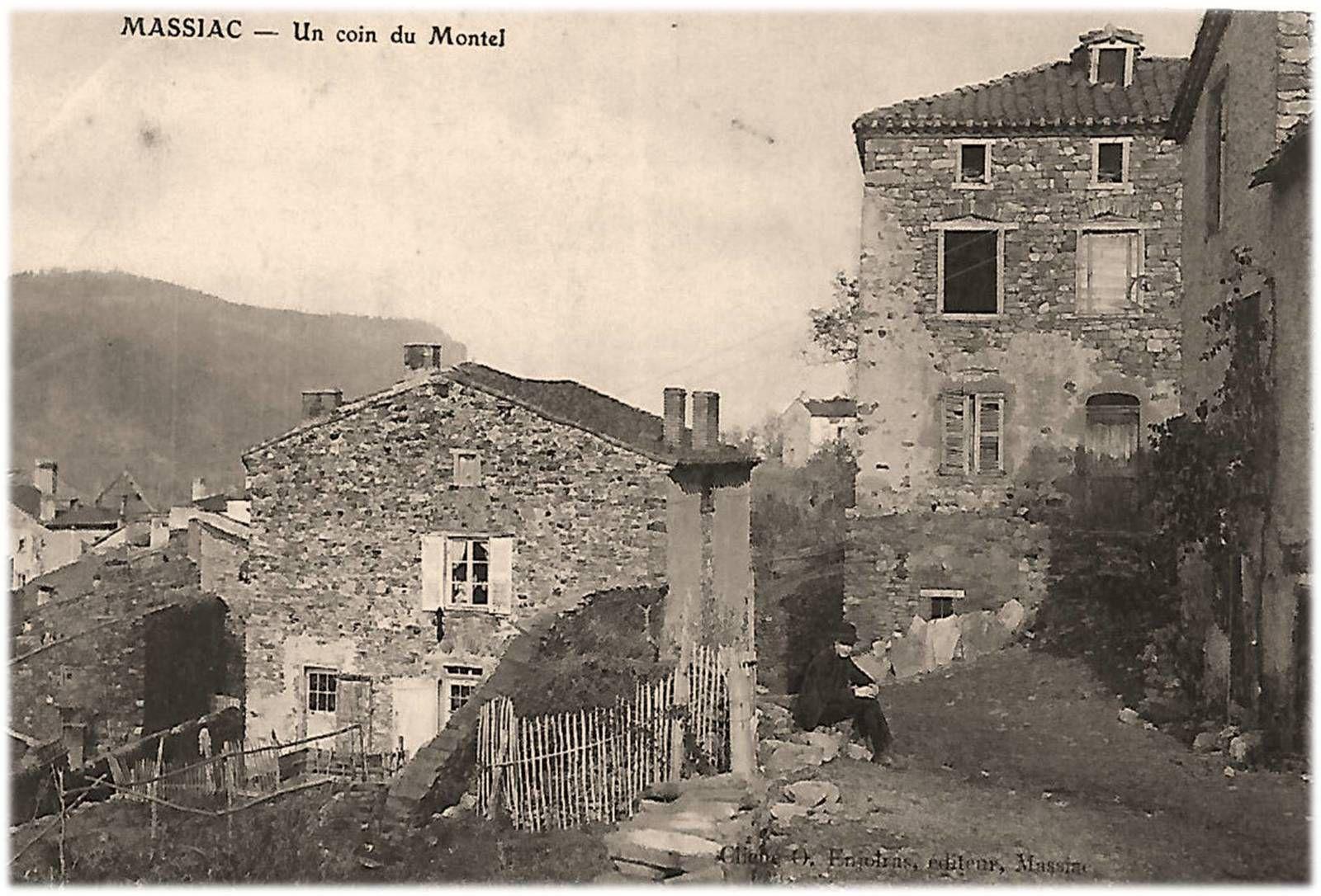 Massiac au début du siècle dernier