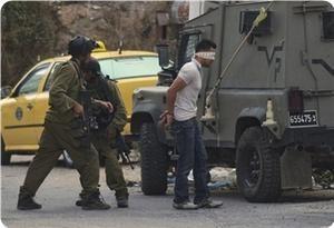 Palestine - arrestation de militants du FPLP par l'Autorité Palestinienne