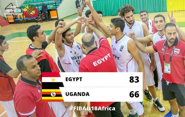 Championnat d'Afrique masculin des U18 : l'Égypte signe sa quatrième victoire en cinq matchs