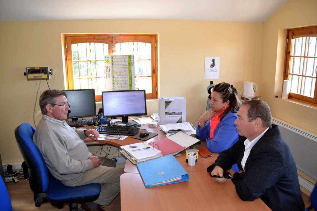 Visite de courtoisie des conseillers départementaux au Pays de Racan