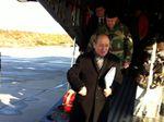 Jean-Yves Le Drian rencontre les militaires prêts pour le départ au Mali