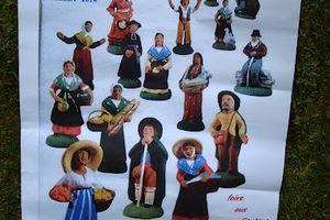 La foire aux santons de Valbonne 2014