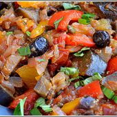 Caponata à la Sicilienne recette Weight-Watchers - NUAGE DE LAIT