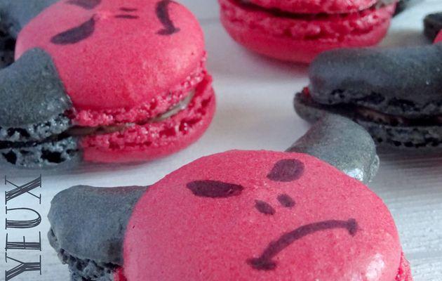 "Macarons ""Petits Diables"" {Halloween}"