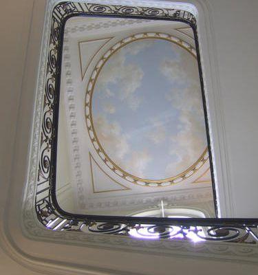 Ciels peints à la Chambre des Notaires à Paris