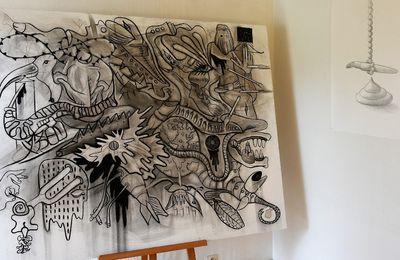 Une expo de Stéphane Tesson à l'institut Kelenn à Penhars
