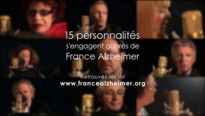 DES MOTS POUR ALZHEIMER : 15 PERSONNALITES S'ENGAGENT AUPRES DE FRANCE ALZHEIMER