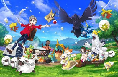 Give a Tough Fight to Your Friends in 'Pokemon Sword and Shield
