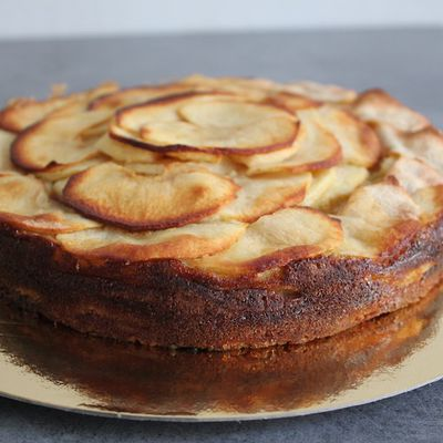 L'Invisible aux pommes sans gluten